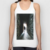 silhouette Tank Tops featuring Silhouette by Kim Ramage