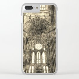 York Minster Vintage Clear iPhone Case