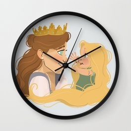 Punzie and Mom  Wall Clock