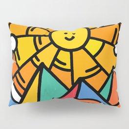 Shiny happy land Pillow Sham