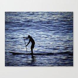 Paddle Surfer Canvas Print