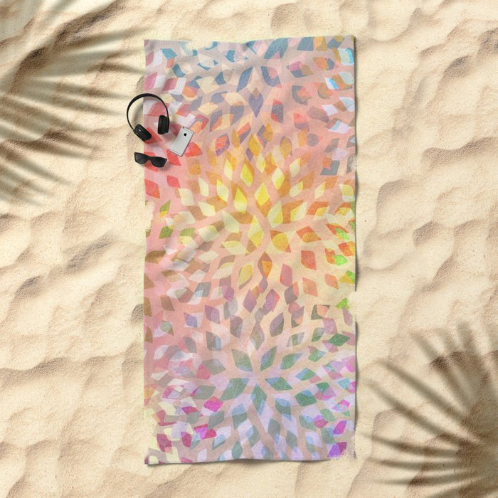 Summer Pattern #2 Beach Towel