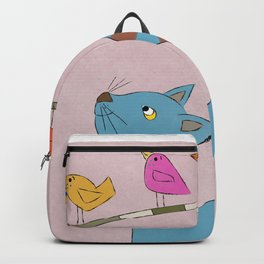 Egyptian cat Backpack