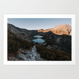 Mountain Ponds - Landscape and Nature Photography Art Print