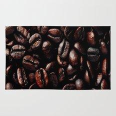 Dark Roasted Coffee Beans Rug