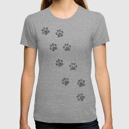 Cat tracks T-shirt