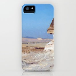Bonaparte Before The Sphinx - Digital Remastered Edition iPhone Case