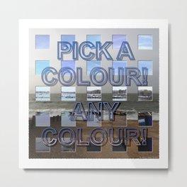 Postmodernism 10 Metal Print