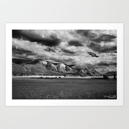 Durango Colorado Farming Art Print