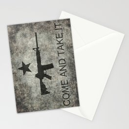 Come and Take it Flag with AR-15 Stationery Cards