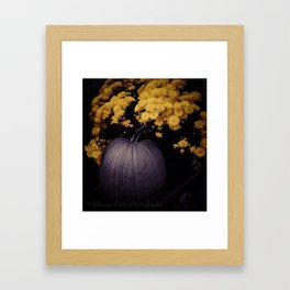 The Warmth Of Fall Framed Art Print
