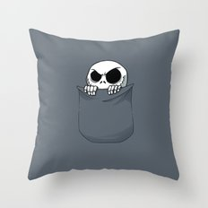 Jack in the Pocket Throw Pillow
