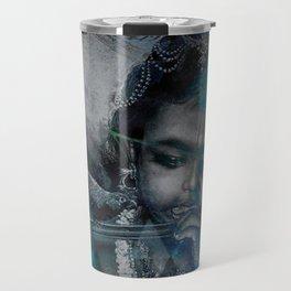 Krishna The mischievous one - The Hindu God Travel Mug