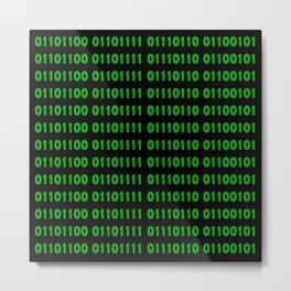 Binary - Love Metal Print
