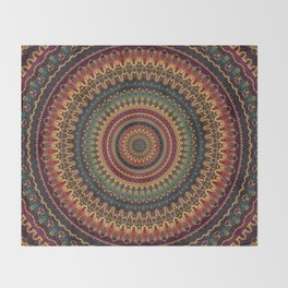 Mandala 488 Throw Blanket
