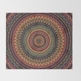 Mandala 488 Throw Blanket