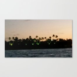 Fisher Island Canvas Print