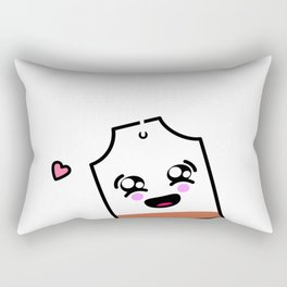 Positivi-Tea I Love Tea Tea Lover Start Your Day With A Tea Rectangular Pillow
