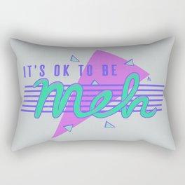 It's OK To Be Meh Rectangular Pillow