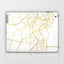 MARACAIBO VENEZUELA CITY STREET MAP ART Laptop & iPad Skin