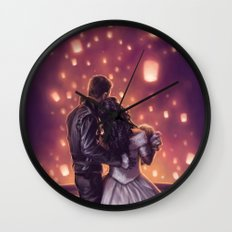 Lights of Hope Wall Clock