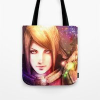 samus Tote Bags featuring Samus 2013 by Vincent Vernacatola