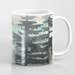 Pine Trees Coffee Mug