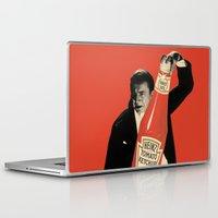 vegetarian Laptop & iPad Skins featuring Vegetarian Vampire by Karolis Butenas