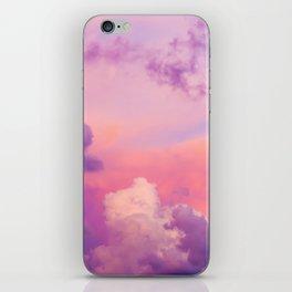 Pink & Purple Clouds iPhone Skin