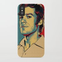 dexter iPhone & iPod Cases featuring Dexter by Above & Beyond Graphic Studios