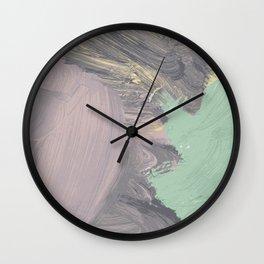 Storming Pastel Wall Clock