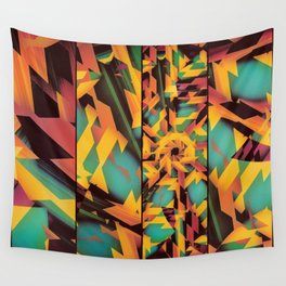 Delayed Impact Wall Tapestry