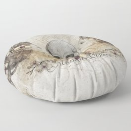 Memento Vivere Floor Pillow