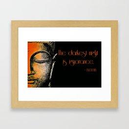Buddha 2 Framed Art Print