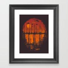 The Star Hunter Framed Art Print