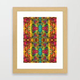 Tribal Gathering Framed Art Print