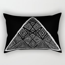 Root Two Triangle  Rectangular Pillow
