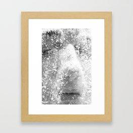 Flour girl Framed Art Print