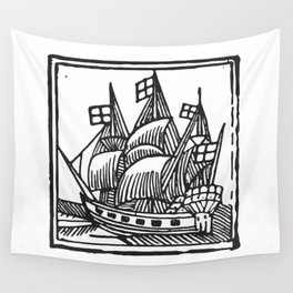 Ship Wall Tapestry