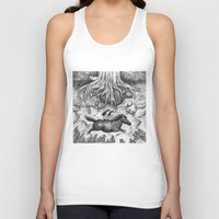 sisters Tank Tops featuring Sisters by Ulrika Kestere