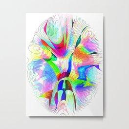 Fingerprint series 3 Metal Print