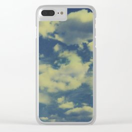 Instant Series: Clouds II Clear iPhone Case