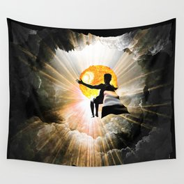 Bringer Of Light Wall Tapestry