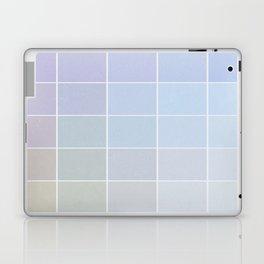 Pastel Square Gradient Pattern Laptop & iPad Skin