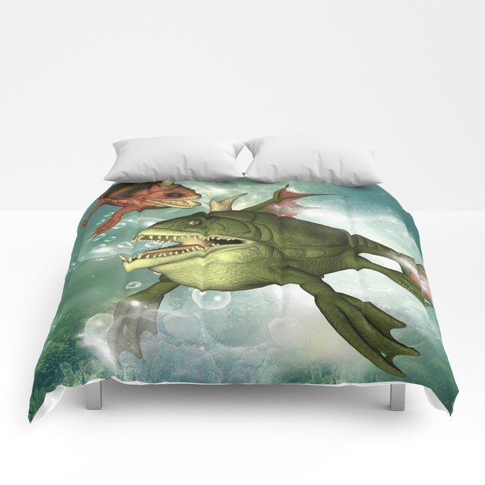 Armour fish Comforters