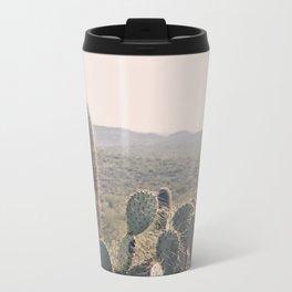 Arizona Cacti Metal Travel Mug