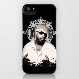 Guru // GangStarr iPhone Case