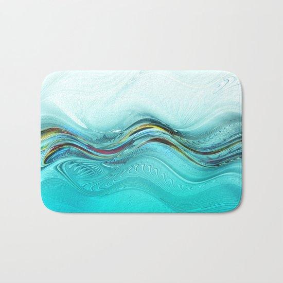 Fractal Wave Bath Mat