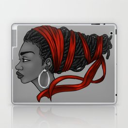Red Ribbon Laptop & iPad Skin