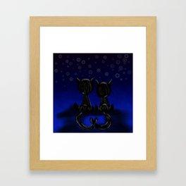 The Lovers' Dream Framed Art Print